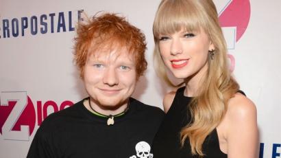 Taylor lekvárt főzött Ed Sheerannek
