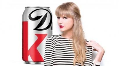 Taylor Swift diétás kólát reklámoz