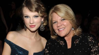 Taylor Swift édesanyja a rákkal küzd