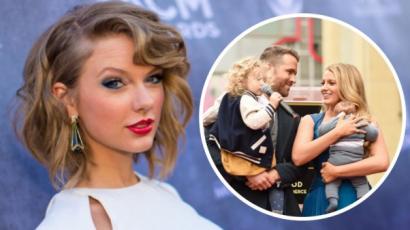 Taylor Swift megerősítette, hogy Blake Lively és Ryan Reynolds kislánya hallható a Gorgeousben