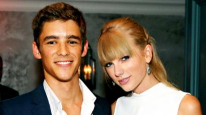 Taylor Swift nem randizik Brenton Thwaitesszel
