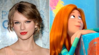 Taylor Swift szinkronhangnak áll