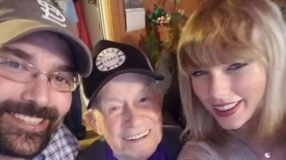 Taylor Swift újabb rajongójának szerzett örömet