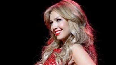 Thalía szupermodellnek állt