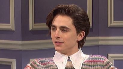 Timothée Chalamet beöltözött Harry Stylesnak az SNL műsorában