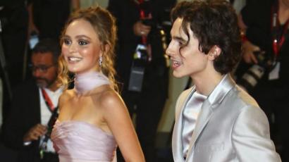 Timothée Chalamet cikinek tartja Lily-Rose Depp-pel készült merész fotóit