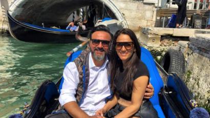 Titokban mondta ki a boldogító igent Debreczeni Zita és Gianni