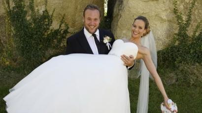 Titokban nősült meg Feke Pál
