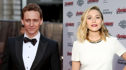 Tom Hiddleston Elizabeth Olsennel randizik