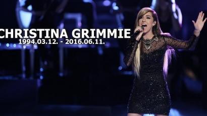 Tragédia! Halálra lőtték a fiatal énekesnőt, Christina Grimmie-t