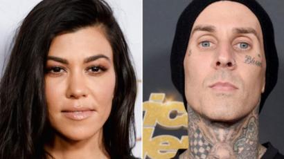 Travis Barker a mellkasára tetováltatta Kourtney Kardashian nevét