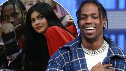 Travis Scott megszólalt Kylie Jenner állítólagos terhességével kapcsolatban
