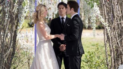 TVD: Újabb fotók kerültek nyilvánosságra Caroline és Stefan esküvőjéről