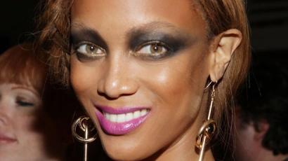 Tyra Banks vámpírsminkkel riogat