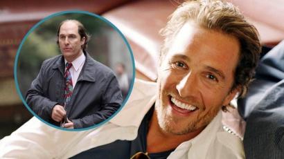 Úgy megváltozott Matthew McConaughey, hogy szinte felismerhetetlen