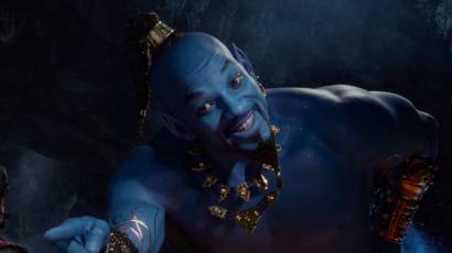 Új előzetes érkezett az élőszereplős Aladdinhoz! Szétszedik a rajongók a Dzsinit alakító Will Smith-t
