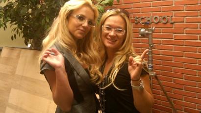 Britney Spears: új forma és szemüveg?!