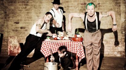 Új kisfilmet forgatott a Red Hot Chili Peppers