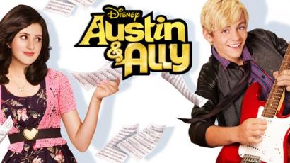 Új, őrült zenés sorozat - Austin és Ally a Disney Csatornán