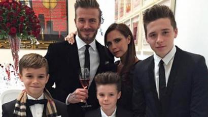 Új taggal bővült a Beckham család