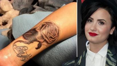Új tetoválást varratott Demi Lovato
