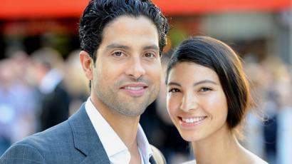 Újabb kislánnyal gyarapodott Adam Rodriguez és Grace Gail családja