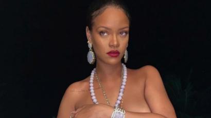 Újabb szexis képeket osztott meg magáról Rihanna