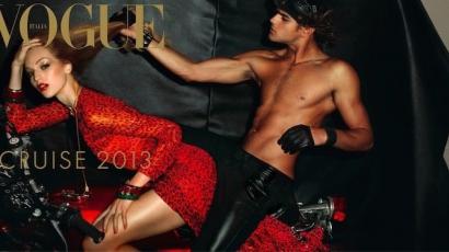Újra a Vogue címlapján Axente Vanessa