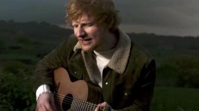 Váratlan meglepetés: új számmal jelentkezett Ed Sheeran közel két év kihagyás után