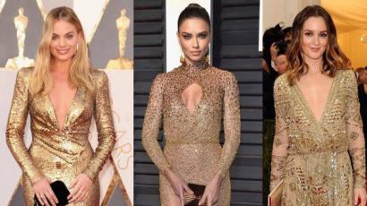 Varázslatos arany csillogás: 20 csodaszép estélyi ruha
