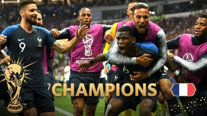 #VB2018: Franciaország nyert, Horvátország második lett