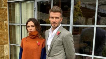 Victoria Beckham kicikizte férje csizmáját