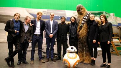 Vilmos és Harry herceg is szerepelni fog az új Star Wars-filmben