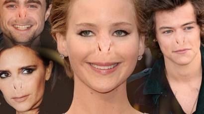 Voldemort orrával születtek újra a celebek