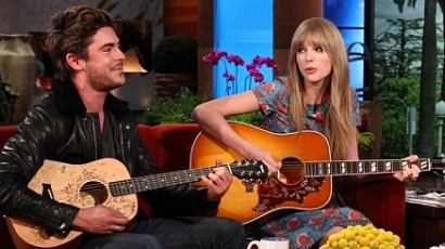 Zac Efron Taylor Swifttel duettezett