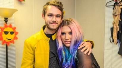Zedd-del stúdiózik Kesha?
