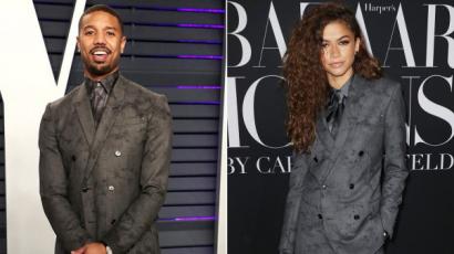 Zendaya és Michael B. Jordan teljesen ugyanúgy öltözött fel - kinek állt jobban?