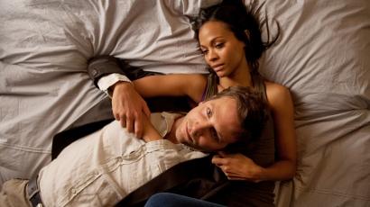 Zoe Saldana és Bradley Cooper egy filmben