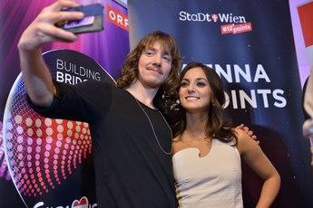 Eurovízió 2015 - sajtótájékoztató