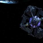 A királynő hajója:Vészesen közel a földhöz