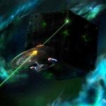 Borg kocka vs. Galaxy:Telitalálat