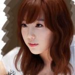 Painting_SNSD_Taeyeon_by_aimgallagher.jpg