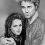 My-Robert-Pattinson-and-Kristen-Stewart-Drawings-twilight