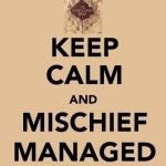 Mischief Managed.;DD(6)
