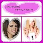 Selena barnán és szőkén