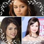 Selena, Miley és Demi