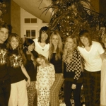 Miley és a családja tavaly karácsonykor!