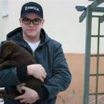 Gustav és egy kutyus