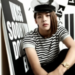 Cute maknae DongHo. Ex-U-Kiss member. :'(