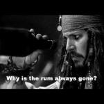 i love rum...